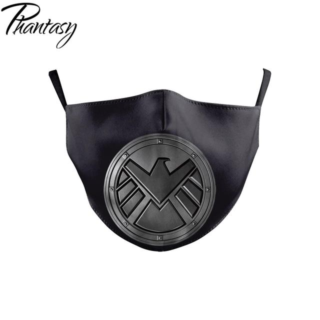 Phantasy Children Adult Dust-Proof Anti-fog Multicolor Face Mask Marvel Superhero Cosplay Protective Mask Mouth Cover Breathable 1