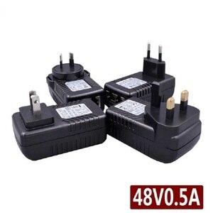48V 0.5A 24 Watt POE Wall Plug Poe Injector Ethernet Adapter CCTV IP Camera PoE Phone Power Supply US EU AU UK plug