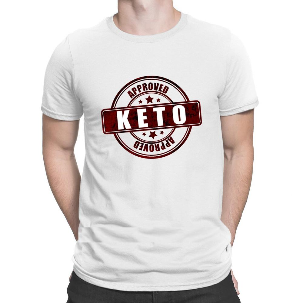 Keto Approved T Shirt Better Summer Style Slim Fit Leisure Tshirt Men Personality Top Quality Fit Euro