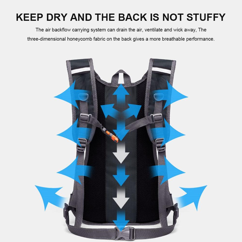 Outdoor Sports Backpack Waterproof Hydration Backpack Riding Accessories Hiking Cycling Climbing Gadgets Trekking Bag Hot Unisex