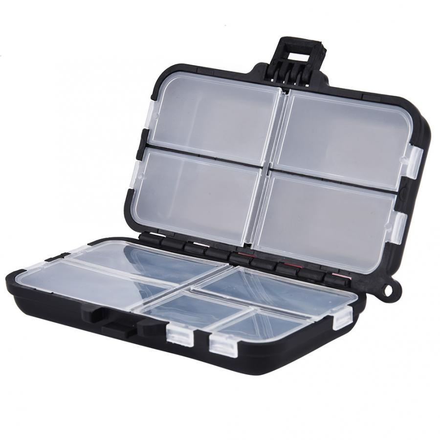 Durable plastic Fishing Tackle Box Hook Lures Fishing Accessories Storage Case fishing accessories