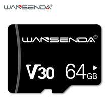 WANSENDA-tarjeta de memoria TF Clase 10 Original, 16GB, 32GB, 64GB, 128GB, almacenamiento externo para teléfono inteligente y PC de mesa