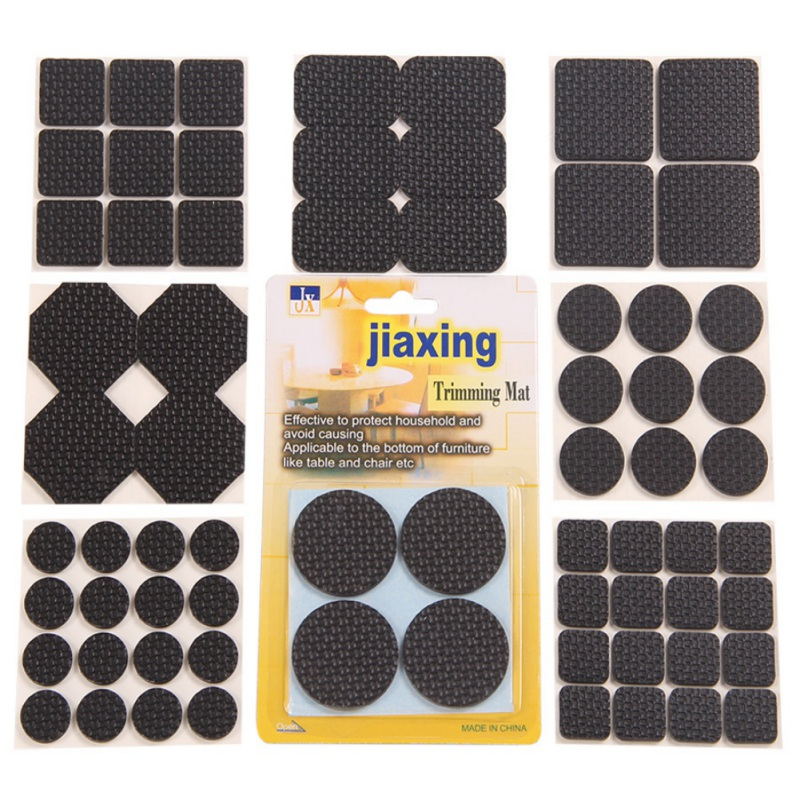 1 Set Self Adhesive Furniture Leg Feet Rug Felt Pads Anti Slip Mat Bumper Damper For Chair Table Protector Hardware