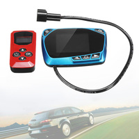 12V / 24V 블루 LCD 모니터 LCD 주차 히터 스위치 범용 난방 장치 컨트롤러 원격 제어 교체 부품