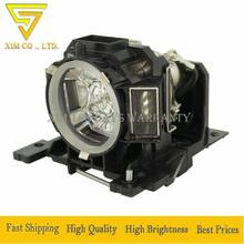 цена на DT00893 high quality Projector lamp with housing for HITACHI CP-A200/ CP-A52/ ED-A10/ ED-A101/ ED-A111/ ED-A6/ ED-A7/ HCP-A7