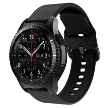 Watch Men Bracelet Samsung Gear Frontier/classic 22mm Silicone Women's S3 for Sport-Replacement