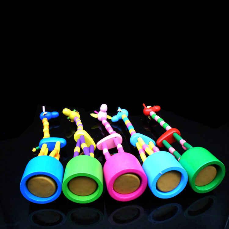 Juguetes de aprendizaje para bebés pequeños juguetes de madera Animal jirafa juguete de desarrollo para niños juguetes de aprendizaje educativo temprano intelectual para bebés regalo