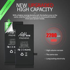 Image 2 - Batería de alta capacidad PINZHENG para iPhone 6 Plus 6s Plus, Bateria de repuesto para iPhone 6 Plus, 6s Plus, baterías con herramientas gratis