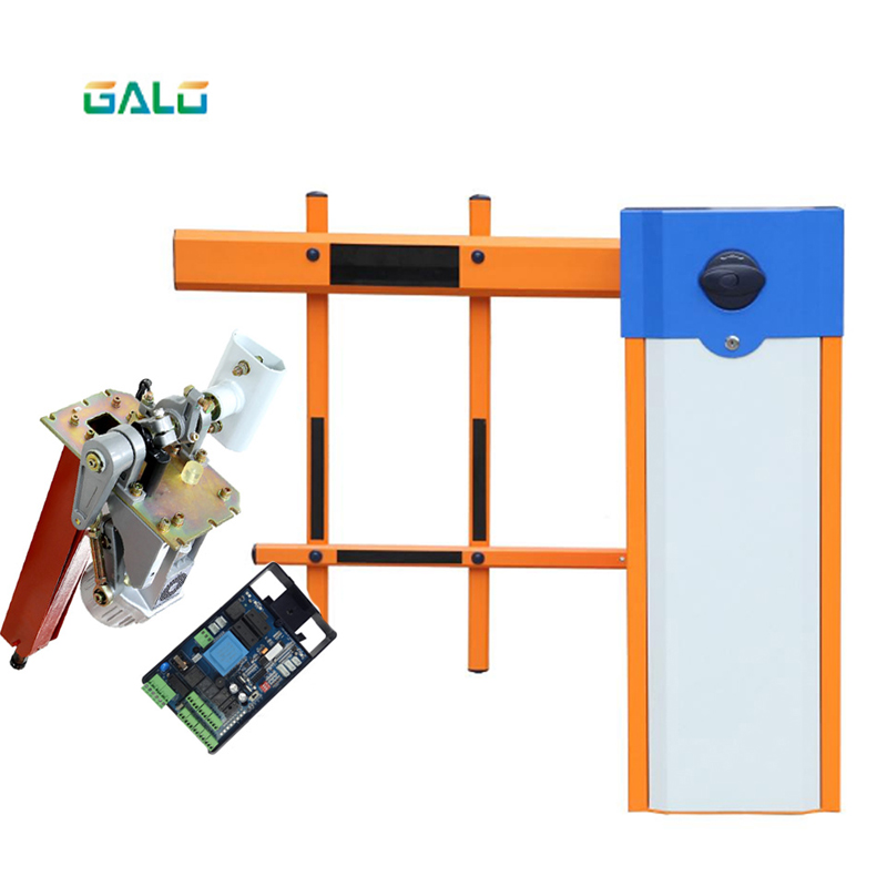 2 Fences Boom Arm Parking Barrier Gate/automatic Gate Barrier System Automatic Fence / Telescopic Boom Barrier Gate For Car Park