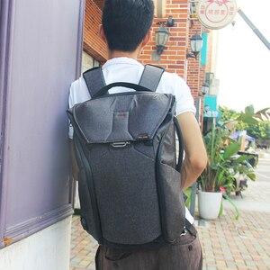 Image 5 - Fotografía de gran capacidad Cámara impermeable a prueba de golpes a prueba mochila de las mujeres de los hombres, bolsa de viaje para ordenador portátil de 15 pulgadas DSLR funda Casual