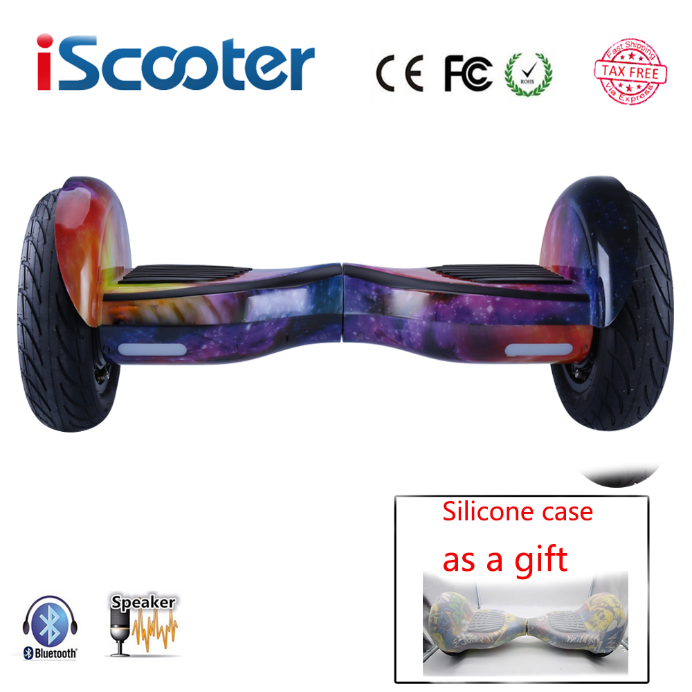 iScooter hoverboard 10 inch bluetooth two wheel smart self balancing scooter electric skateboard with speaker giroskuter UL2722|iscooter hoverboard|hoverboard 10|hoverboard 10 inch bluetooth - title=