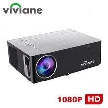 Vivicine M20 최신 1080p 프로젝터, 옵션 안드로이드 10.0 1920x1080 풀 HD LED 홈 시어터 비디오 프로젝터 비머 지원 AC3
