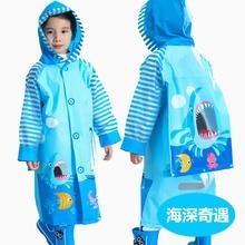 Plastic Jacket Raincoat Boys Children Impermeable Hiking Yellow Waterproof Kids Cute
