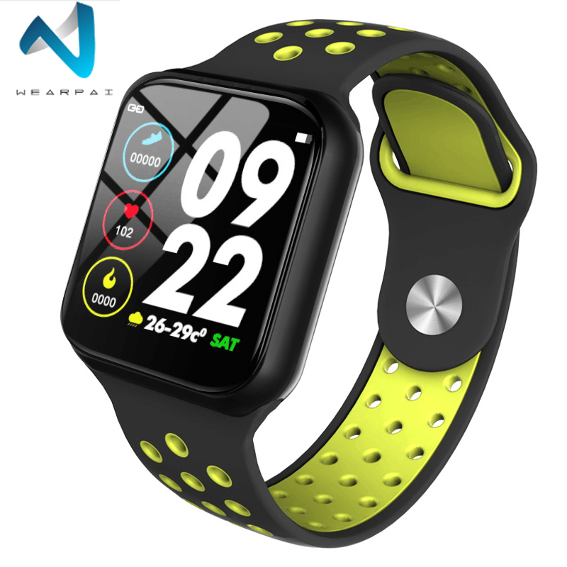 Wearpai Monitor Watch Fitness-Tracker F8-Heart-Rate Waterproof Android Newest IP67
