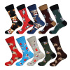 Men's Animals Dogs Socks Man's Dress Cotton Socks Funny Socks Casual Cotton Sport Socks Hot Sale Men's Socks