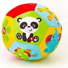ألعاب الأطفال الكرة الحيوان لينة دمية محشوة كرات طفل خشخيشات الرضع بناء الجسم الكرة لمدة 0 12 شهرا