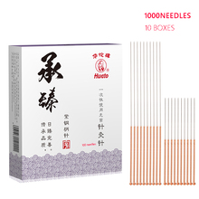 Copper Handlebar Acupuncture Needles 1000 Sterile Disposable Chinese Medicine Beauty Needle Point Massage Many size Choosable
