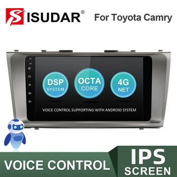 ISUDAR V57S 2 Din Android Car Radio For Toyota Camry 7 XV 40 2006-2011 CarMultimedia Player GPS Stereo System IPS Voice Control image