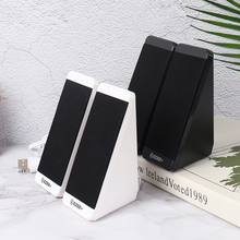 Wired Speakers Laptop-Phone Multimedia Elevation-Angle for Horns PC USB 1pair