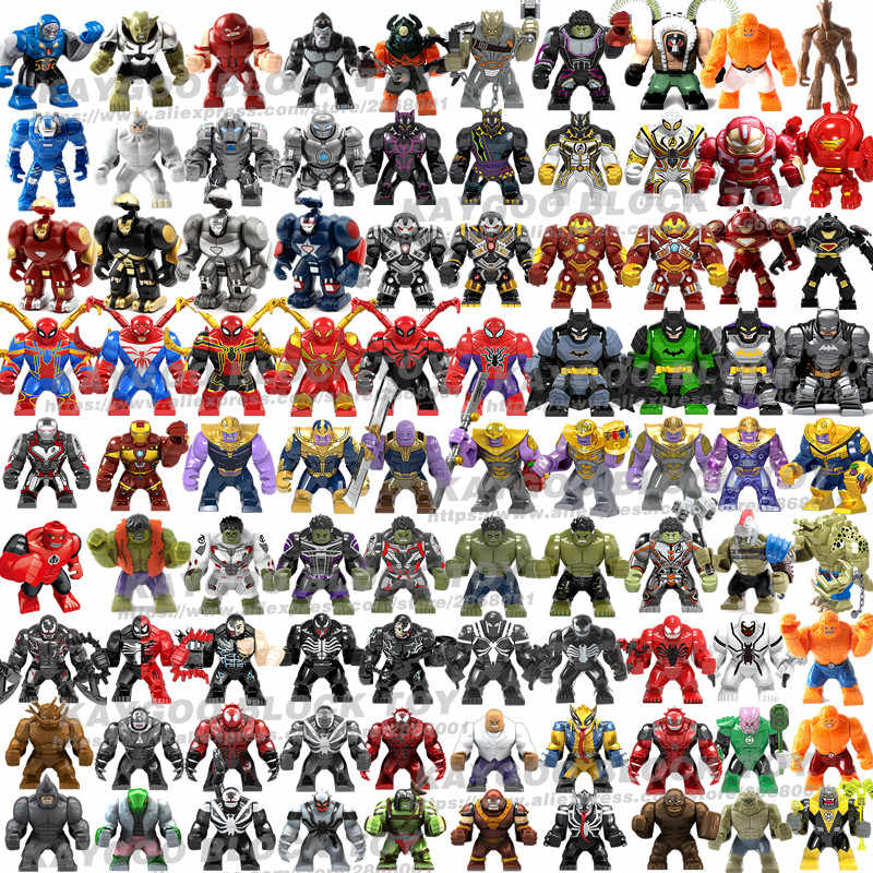 Ironman Iron man Hall of Armor Mark21 Mark85 Bricks for