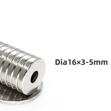 3/5/10 pieces 16x3-5 neodymium magnet 16mm x3mm hole 5mm N35 rare earth Countersunk permanent magnetic disc magnets