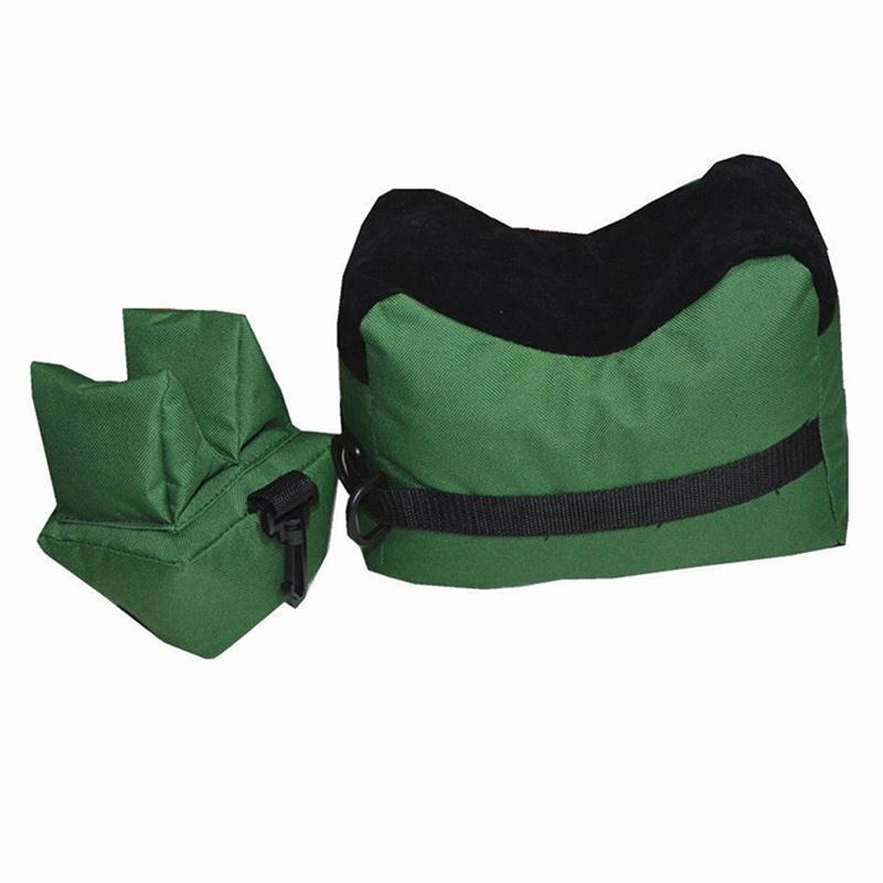 1 Set Shoot Support Bag Unfilled Front & Rear Signting Device Stand Holder 600D Oxford Cloth Sandbag Sand Not Included!