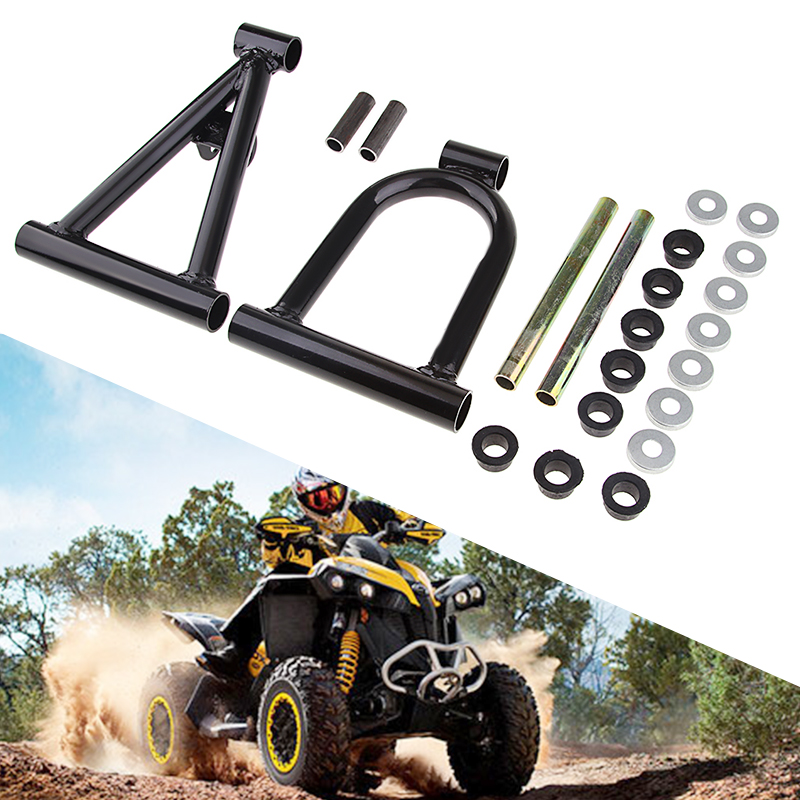 For Most Chinese Made 110cc ATVs Coolster 3050C Quad A-Arm Suspension Swim Arm With Bearing Kit Metal ATV Parts Dropshipping
