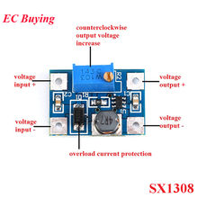 DC-DC 2-24V to 2-28V SX1308 Step Up Adjustable Power Supply Module Step-Up Boost Converter for DIY Kit SOT23-6 B628 SOT-23 SOT23(China)