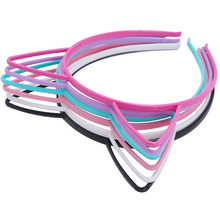 Set Of Cat Candy Ears Crown Headband Girls Hair Hoop Bezel Children Festival Birthday Party Accessories Hairband For Headwear