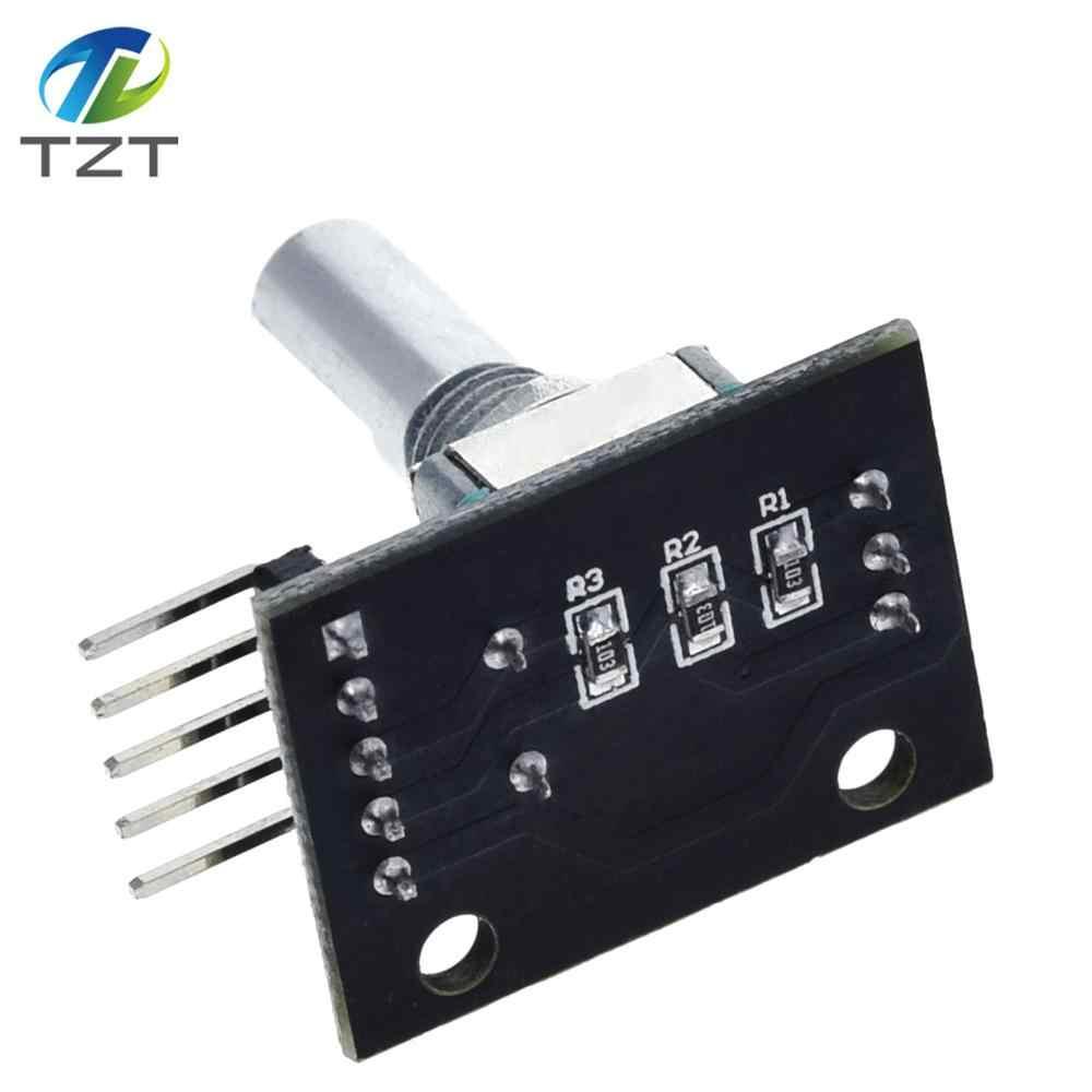 1PCS KY-040 Rotary Encoder Module Brick Sensor Development For Arduino CA