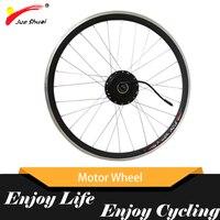 36V 250W 350W 500W Electric Bike Motor Wheel With Rim Spokes Suit For 20inch 26inch 700c 6/7 Speed Gear E Bike Accessories Parts