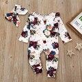 Для маленьких девочек одежда для детей (комплект), одежда для новорожденных, Одежда для младенцев, для маленьких девочек с цветочным принтом...