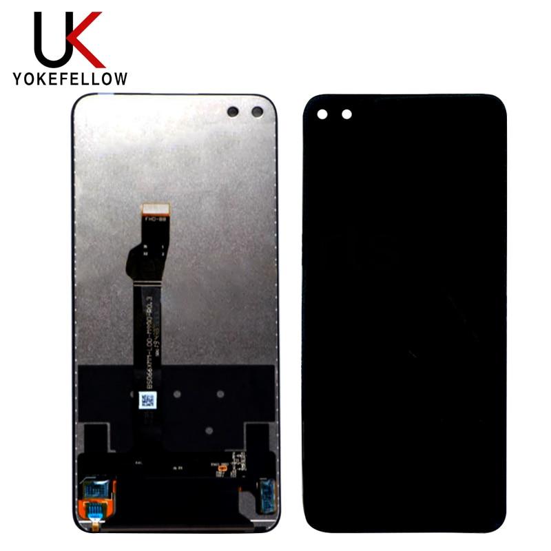 """טלוויזיות 25 29 6.57 """""""" LCD מסך מגע תצוגה LCD V30 30 צפה כבוד Huawei עבור מודול החלפת Huawei נובה 6 Digitizer עצרת (2)"""