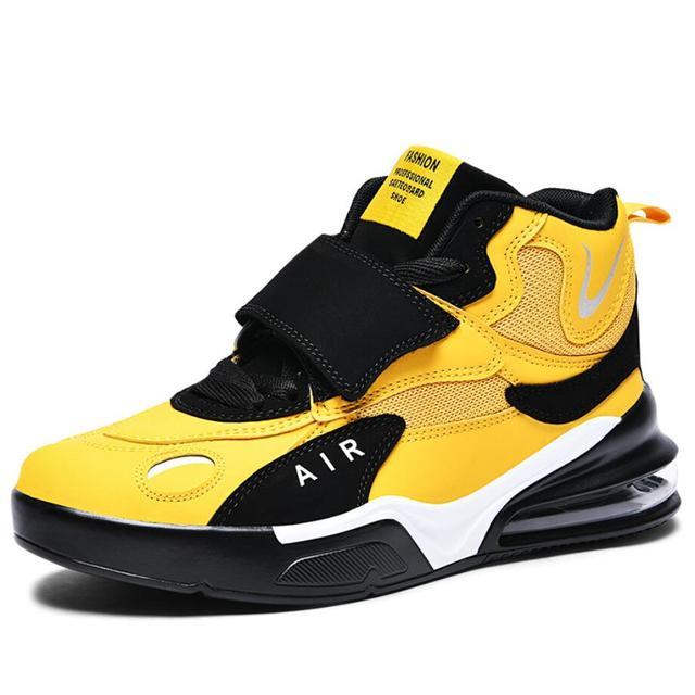 Zapatillas deportivas de baloncesto para hombre, zapatos masculinos de alta calidad, transpirables, con amortiguación de aire, para exteriores, 38-45, otoño e invierno, 2021 3