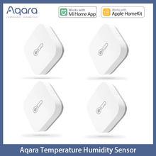 Aqara-Sensor de temperatura humedad y presión del aire, dispositivo inteligente, conexión Zigbee, para la aplicación de Xiaomi Mi home