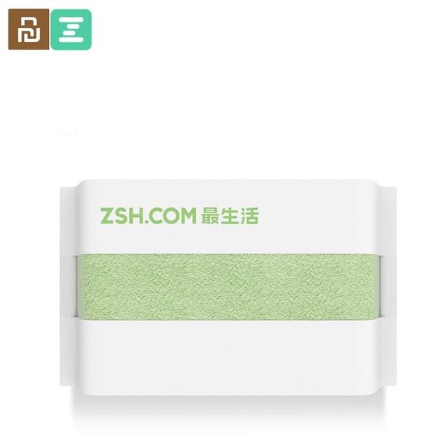 Original Youpin ZSH Polyegiene Antibacterical Towel Young Series 100% Cotton 5 Colors Highly Absorbent Bath Face Hand Towel D5