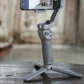 Portable Mini Tripod Mount Stand Holder for DJI Osmo Mobile 3 / 2 Gimbal Handheld Stabilizer Tripod Stand Holder for Osmo Mobile bicycle clamp mount holder bike clip for insta360 one x for osmo mobile 2 3 kit