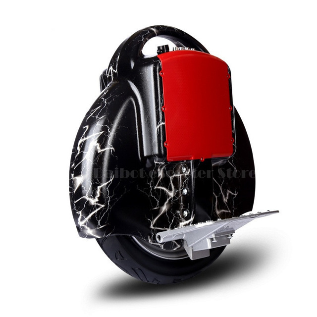 Daibot Electric Scooter 60V One Wheel Self Balancing Scooters With Bluetooth <font><b>Speaker</b></font> <font><b>14</b></font> Inch 350W Electric Scooters Adults image