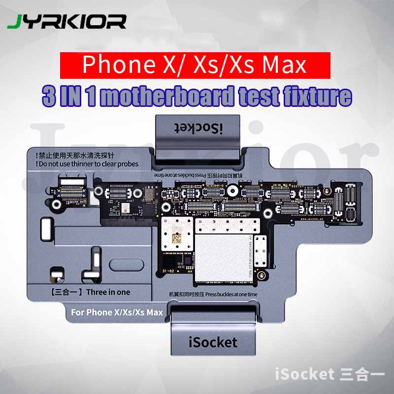 Qianli 3 в 1 для iPhone X/XS MAX, материнская плата, Layering тестер, материнская плата, верхняя и нижняя, скрепления, инструмент обнаружения обслуживания