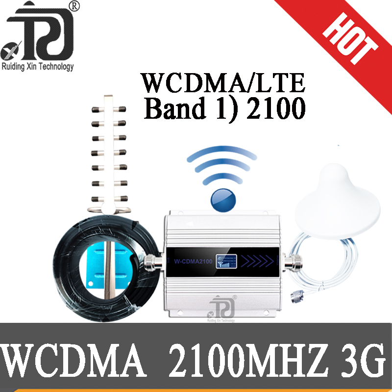 Amplifier 3g  (LTE Band 1) 2100mhz UMTS Mobile Signal Booster Gsm Repeate 4G 3G (HSPA) WCDMA 2100MHz Cellular Repeater