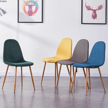 Nowoczesne lite drewno restauracja wypoczynek krzesła Nordic styl skandynawski leniwy krzesła do jadalni kreatywne krzesła biurowe spotkanie L tanie i dobre opinie CN (pochodzenie) 800mm Jadalnia meble pokojowe 87CM Europa i ameryka Jadalnia krzesło Meble do domu Drewniane Z litego drewna