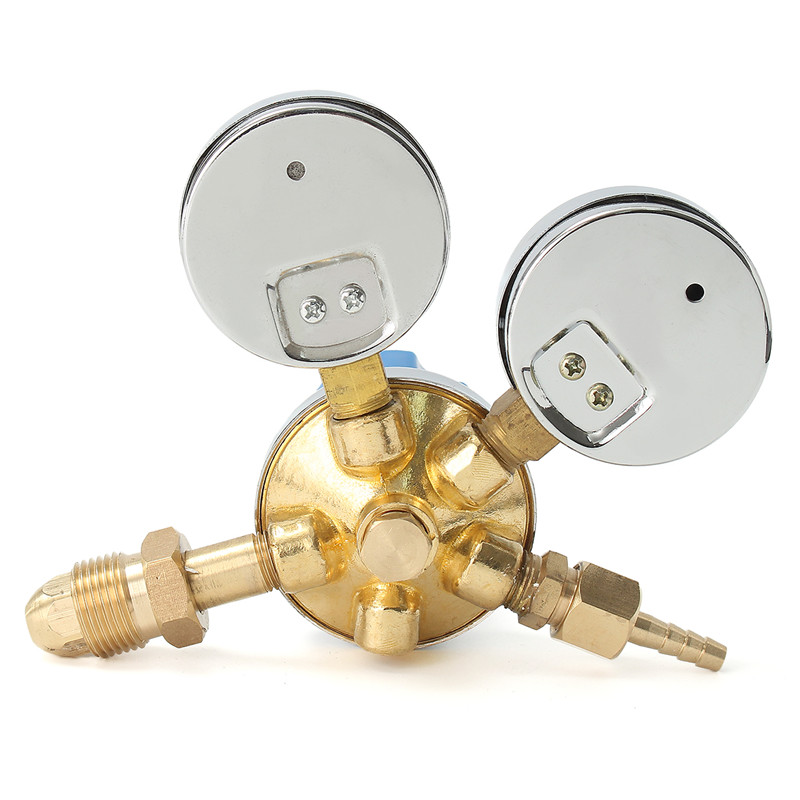 Acetylene Brass Argon Gas Gas Regulator Pressure Oxygen Cutting Reducer Torch Welding Victor Meter Flow Fit Mig Solid