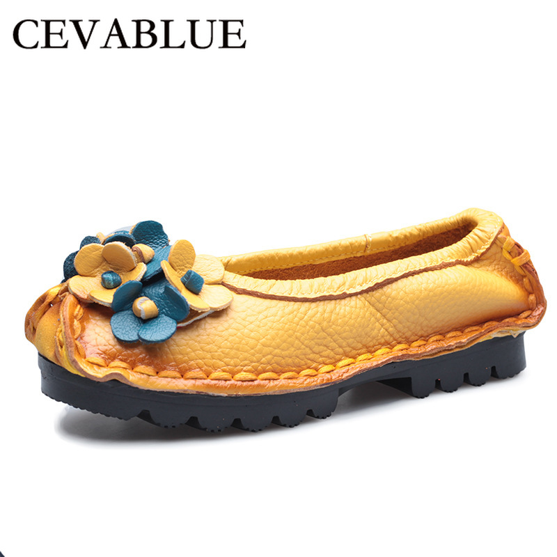 Single Shoes Spring and Summer Autumn mesh Female Round Head Shallow Mouth Breathable Mother Shoes