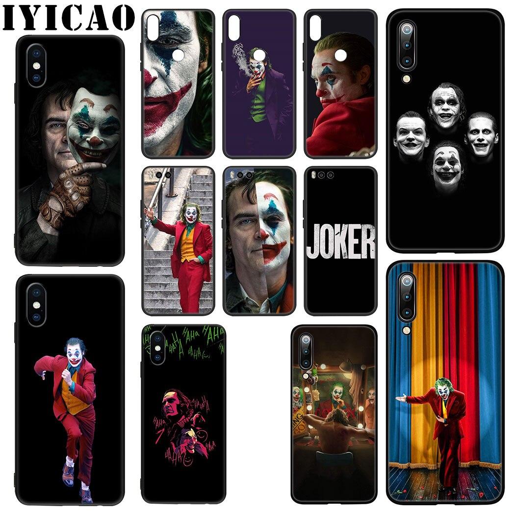 Joker Joaquin Phoenix Movie Soft Case for Xiaomi Mi 6 8 9 SE A1 A2 Lite F1 9T A3 Pro CC9E CC9 MAX 3 5X 6X pocophone f1 TPU Cover