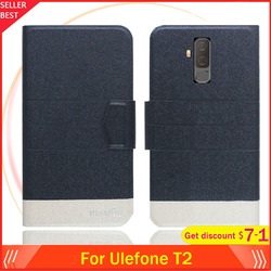 На Алиэкспресс купить чехол для смартфона 5 colors hot!! ulefone t2 case 6.7дюйм. flip ultra-thin leather exclusive phone cover fashion folio book card slots