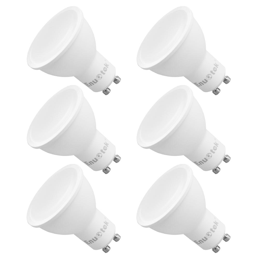 7W Dimmable GU10 LED Spotlights LED Spot Light Bulbs 120° Wide Beam Angle Cool White 5000K AC220~240V Trailing Edge Dimmable