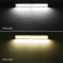 Светодиодный шкаф светильник движения Сенсор Кухня лампа Спальня