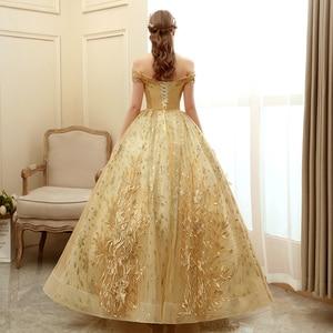 Image 5 - גברת Win Quinceanera שמלת 2020 חדש יוקרה המפלגה לנשף כדור שמלת וינטג תחרה Quinceanera שמלות Vestido דה Quincenera בתוספת גודל