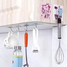 Прозрачный липкий крючок-вешалка крепкий клейкий крючок присоска без следа настенные крючки для ванной и кухни аксессуары