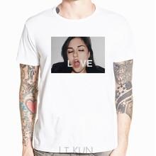 New Sasha Gray Love white T-shirt Mens F